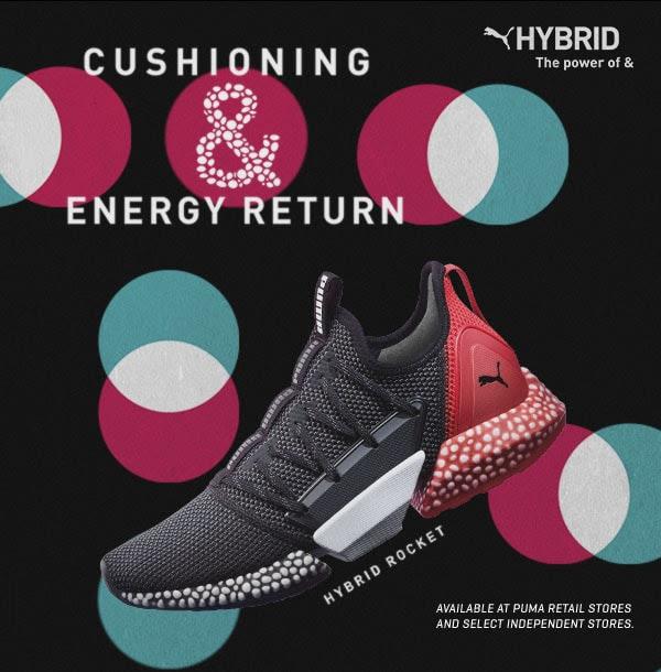 PUMA introduces HYBRID Rocket sneaks